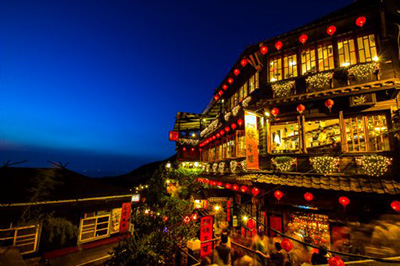 The Amei Teahouse, Jiufen, New Taipei City