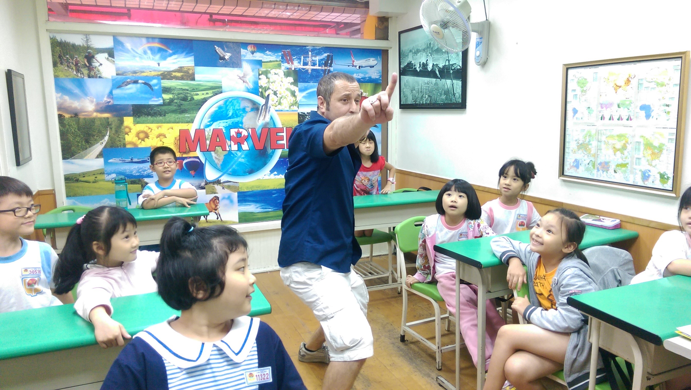 Teaching English and Living in Taiwan Jobs Available 教學工作, Marvel Academy SA, UK, AU, USA, IRL, USA, NZ & CA Accents Welcome! ATTRACTIVE Wages! Near Xinzhuang MRT! FLEXIBLE Hours! GREAT Program! image