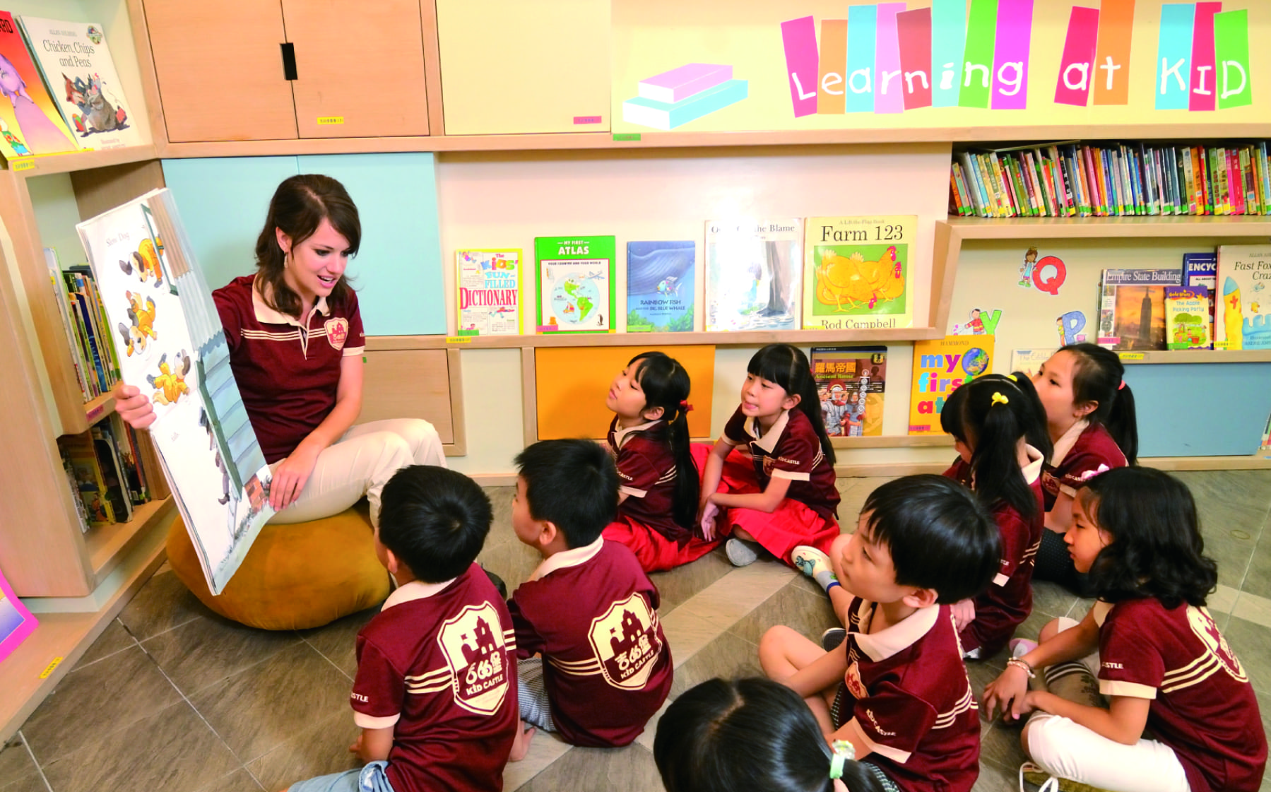 Teaching English and Living in Taiwan, Great job openings at Kid Castle - Full-time&Part-time Teaching Position; Training position image