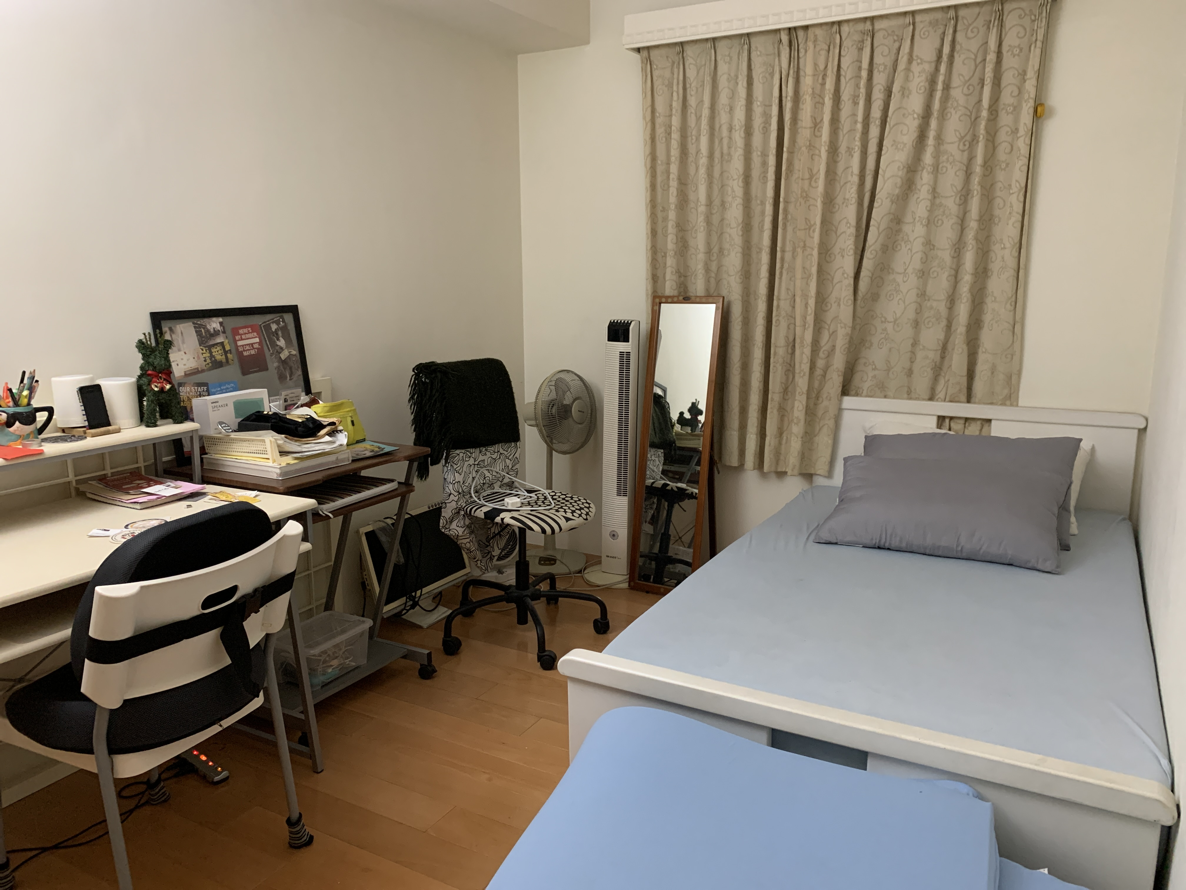 Teaching English and Living in Taiwan Apartments to Share, Single room in an apartment to share  image