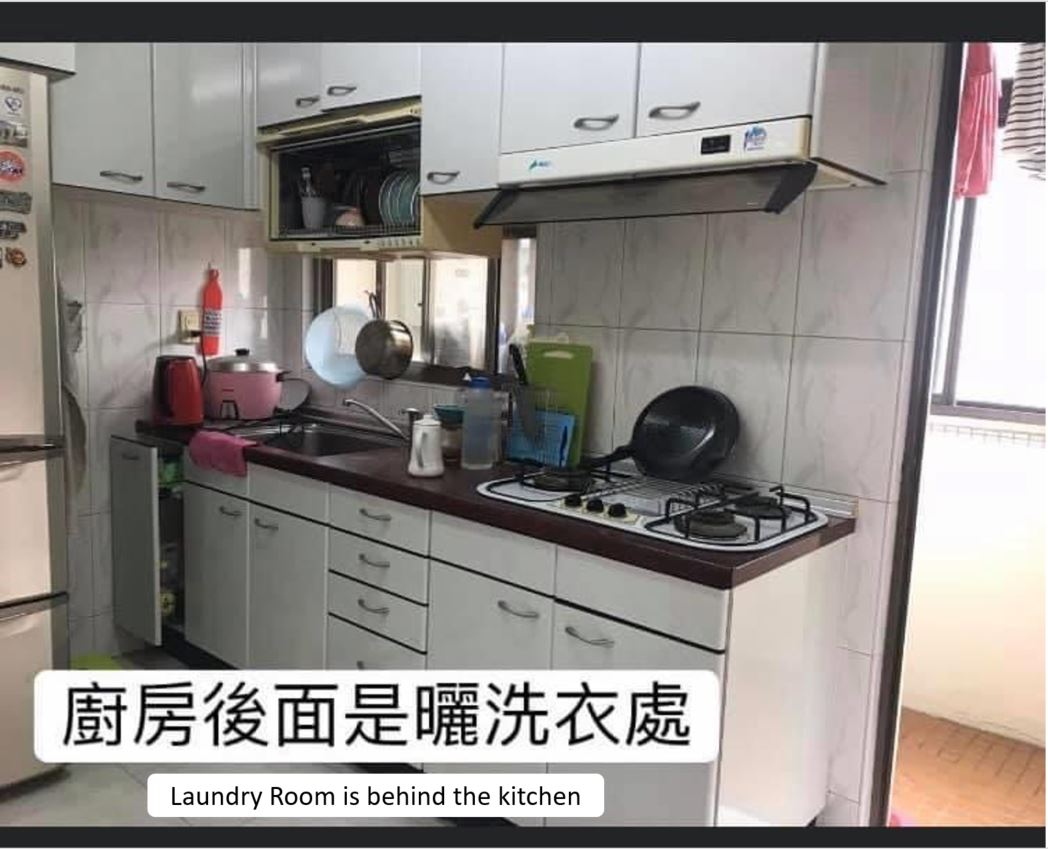 Teaching English and Living in Taiwan Apartments to Share, One Room Available in a Spacious 3 Bedroom in Tainmu! image